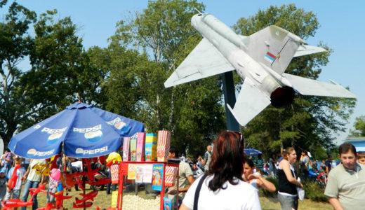 満員のセルビア人と共に ~ 航空ショー