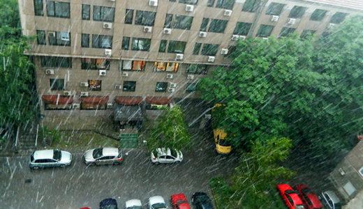 雨かと思ったら・・
