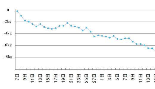 1.5ヶ月で-6kgダイエットは可能か?  → 可能だが、金が掛かる