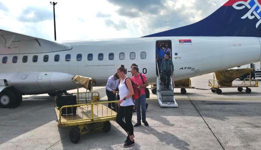 セルビア空港の謎とブルガリア空港の不満