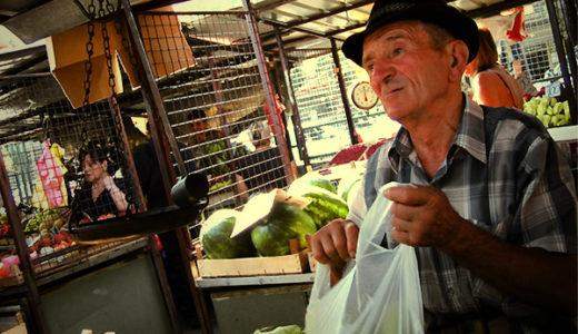 セルビアの農業家 ジカさん