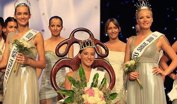 今年も微妙・・ミス セルビア2010 と24人のビキニ美女