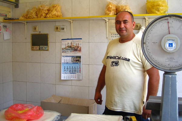 ベオグラードのパスタ専門(食材)店