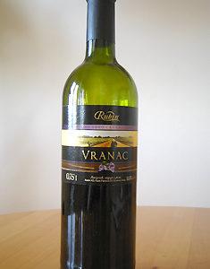 Vranac (ブラナツ)