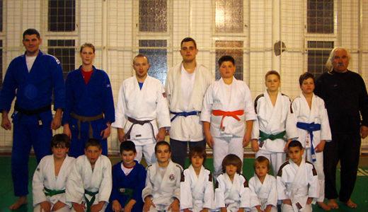 パルチザン柔道クラブ in セルビア