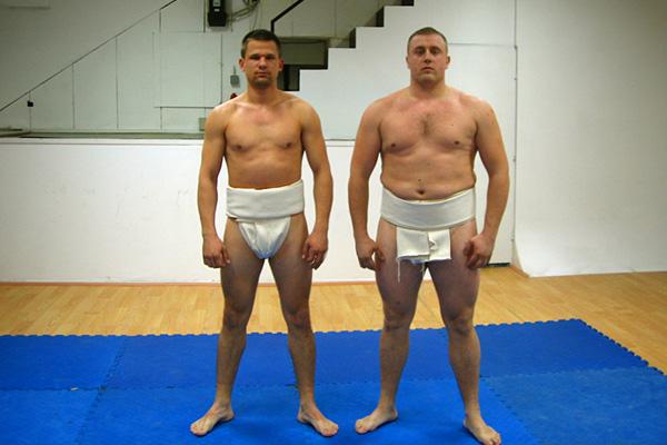 相撲クラブ in セルビア