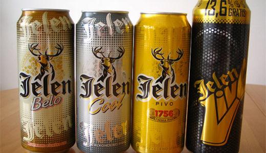 セルビアのビール 2011