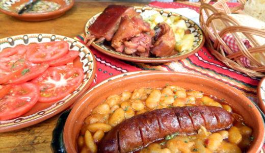 【セルビア料理】レストランのセルビア料理