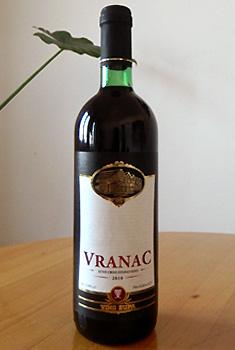 Vranac (ブラナツ 赤)