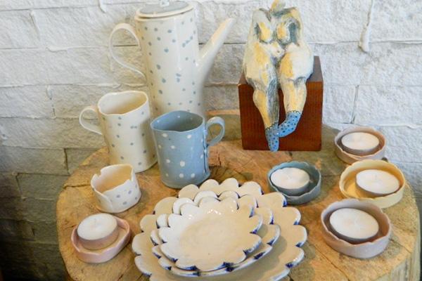 これは素敵! 手作り陶器のお店