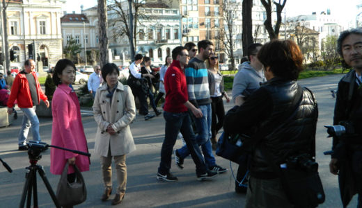 """""""大人のヨーロッパ街歩き~ベオグラード"""" で10年の歳月を振り返りました"""