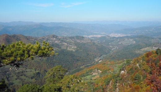 タラ国立公園で紅葉ハイキング