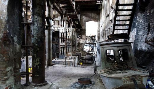 廃墟マニア必見! チュカリツァ製糖工場跡