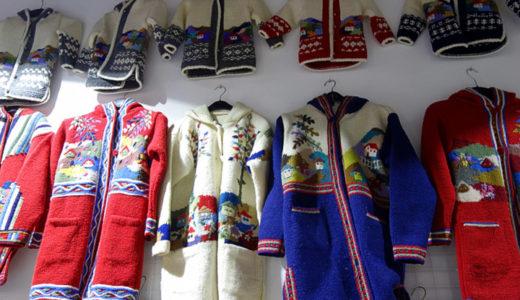 セルビアの手作りお土産が沢山