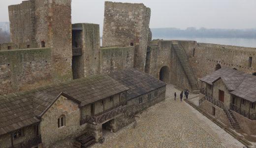 """中世後期から現在に残る """"スメデレヴォ要塞"""""""