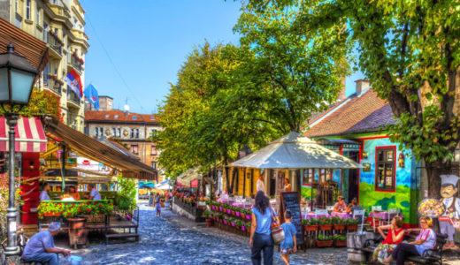 【ベオグラード観光&食事】ボヘミアンの愛したレストラン通り ~ スカダルリヤ通り