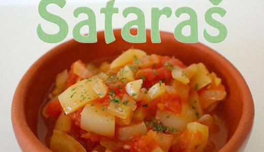 【セルビア料理のレシピ・動画】サタラシュの作り方(Sataraš)